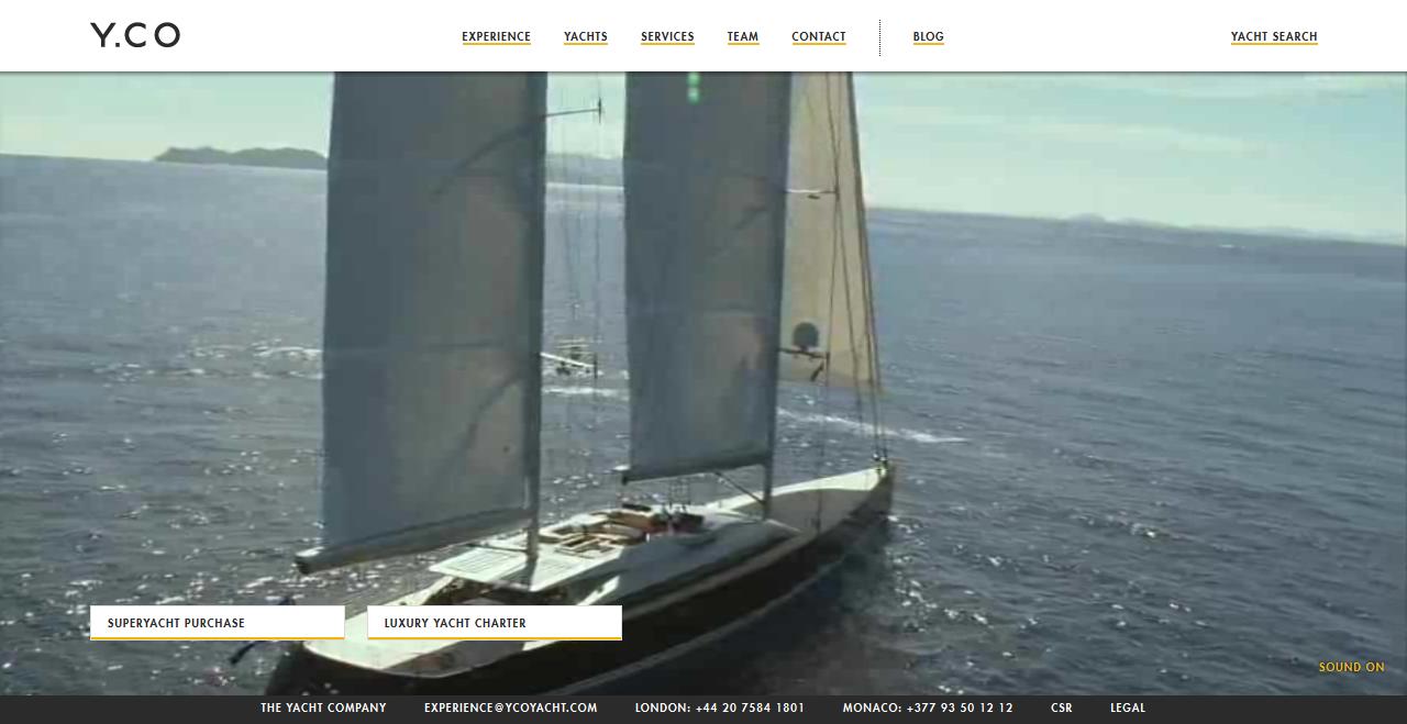 Wideo z yachtami w tle