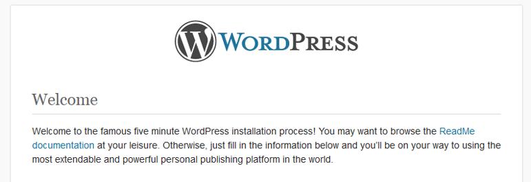 Instalator WordPress w chmurze Azure