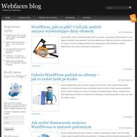 Strona webfaces.pl/blog