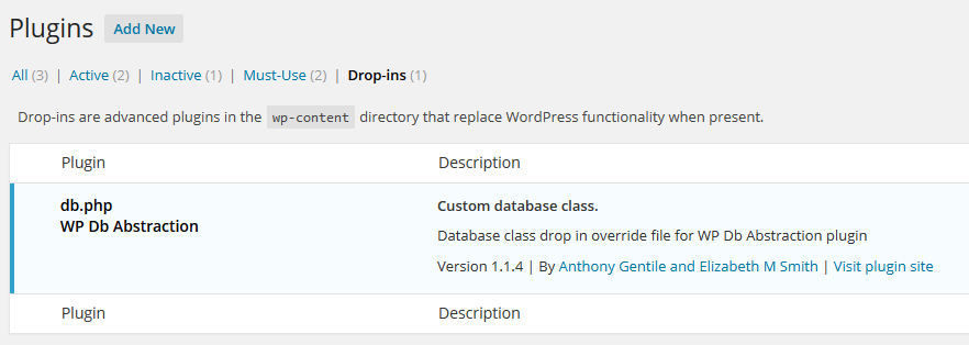 Brandoo WordPress - drop ins