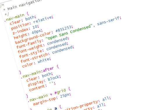 Przygotowanie plików CSS